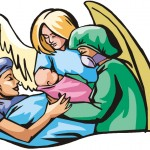 Prayer allows angels to help us through life.