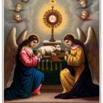 Angels Prayer Eucharistic Adoration