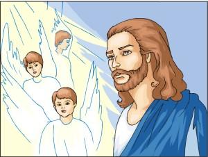 Jesus saves my soul.