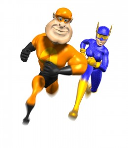 orange-hero-with-woman-hero-running